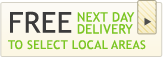 Free Next Day delivery to select local areas