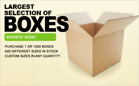 Largest Selection of Boxes
