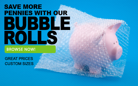 Save More Pennies with Our Bubble Wrap